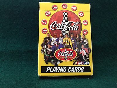 NASCAR/Coca Cola Playing Cards