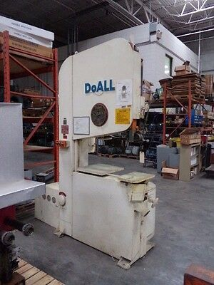 "DoAll 36"" Vertical Band Saw - Model 2V3620"