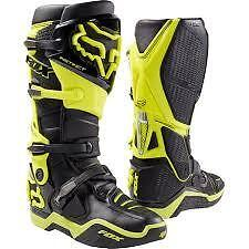 Fox Instinct Boots Black/Yellow NEW Size 12 from Westside Motorcycles