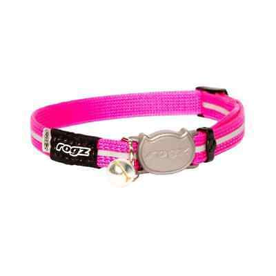 Rogz Alleycat Safeloc Cat Collar Pink - XS & S Sizes