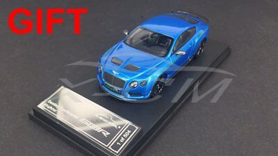Car Model Almost Real Bentley Continental GT3-R 2015 1:43 (Blue) + SMALL GIFT!!