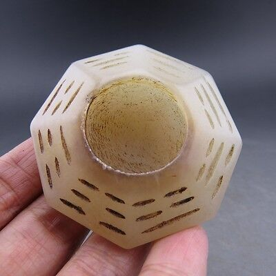 Chinese noble collection, manual sculpture, jade, gossip, inkstone W7