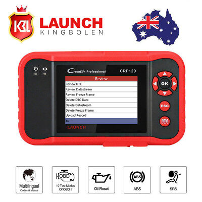 LAUNCH Creader CRP129 OBD2 Engine Fault Diagnostic Scanner Auto Code Reader Tool