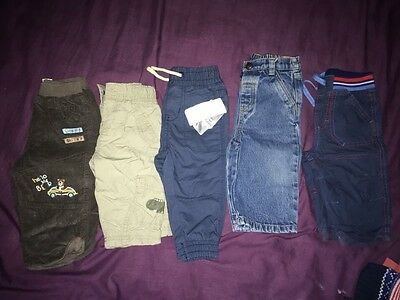 6-9 Month Boys Jeans etc Bundle
