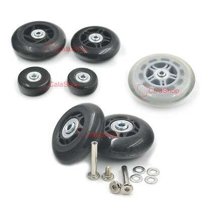 Travel Luggage Replacement Wheel Part Wear Resistant Suitcase Trolley Case Craft