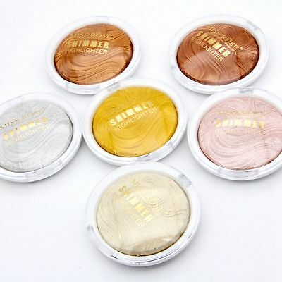 6 Colors Fashion Contour Powder Highlighter Repair Light High Cosmetic Matte New