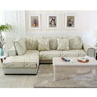 Lounge Slipcover Sofa Couch Cover Seater Cover Throw Mat Home Decor Pad Non Slip