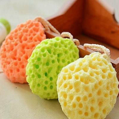 Cute Soft Eco-friendly Baby Bath Kids Infant Shower Sponge Brushes Soft