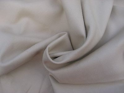 Plain Stone Canvas 100% Cotton Fabric.Great for crafting,curtain making and more