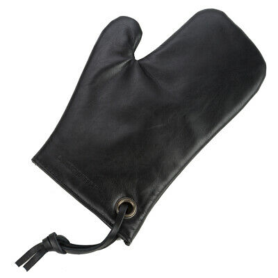 NEW Dutchdeluxes Ultimate Black Leather Oven Glove