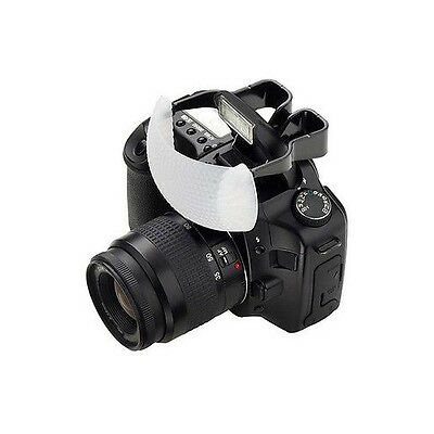 White Soft Dome Pop-Up Flash Light Bounce Diffuser for Nikon Canon Sony Camera