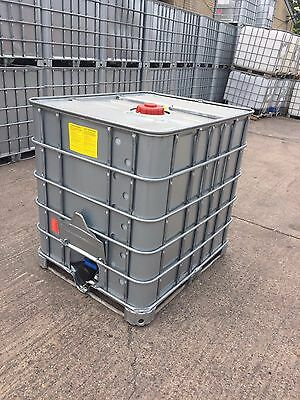 IBC tanks 1000L (galvanised stainless steel case)