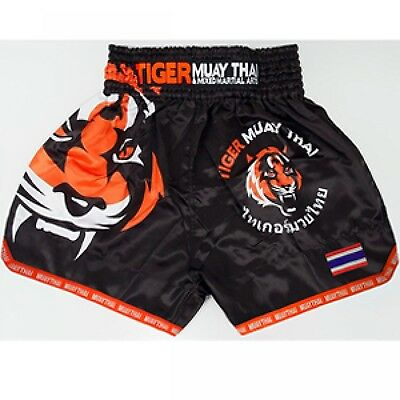 Unbranded MMA Tiger Boxing Shorts Cage Fighting Muay Thai Martial Arts Short