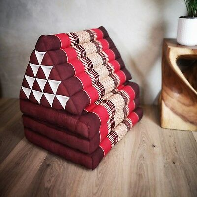 Sale! Jumbo Size Thai Triangle Pillow Fold Out Mattress Cushion DayBed