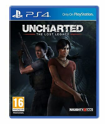 Uncharted 4: The lost Legacy (PS4) Brand New & Sealed