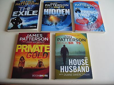 James Patterson Bookshots-5 Book Set