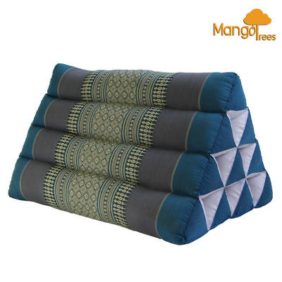 Sale! Thai Triangle Pillow Pad Cushion Handmade 100% Kapok Cotton Insert L Size
