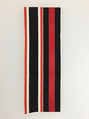 GENUINE German WWII Sudeten and War Merit Cross combined miniature medal ribbon