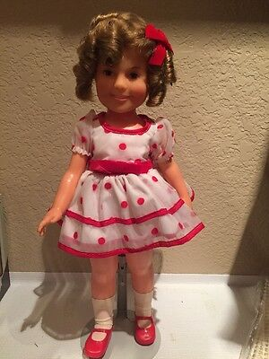"""Vintage 1972 14"""" Ideal Shirley Temple Doll in Original Outfit"""