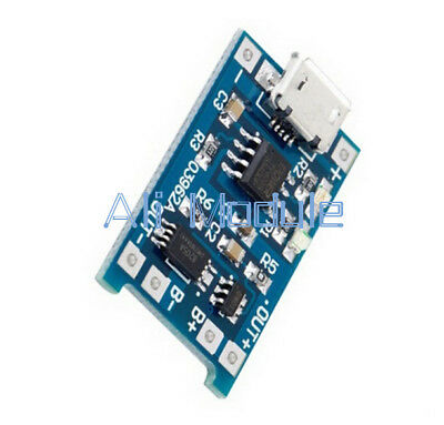 10PCS 5V Micro USB 1A 18650 Lithium Battery Charging Board Charger +Protection A