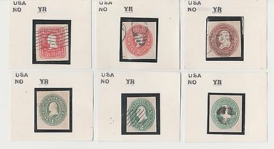 United States BOB Back of Book Cut Square Stamp Collection Lot