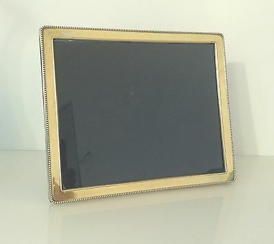 Sterling Silver Modern Photograph Frame 11.25 X 9.25 Inches
