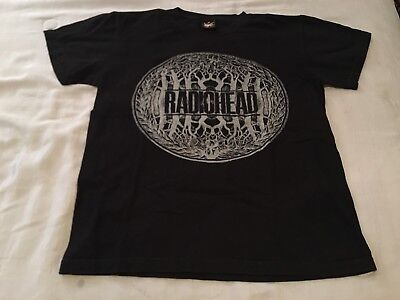 Radiohead King Of Limbs Tour Shirt Men's Med