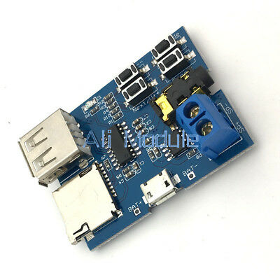 MP3 Format U Disk TF Card decoder board module amplifier decoding audio Player
