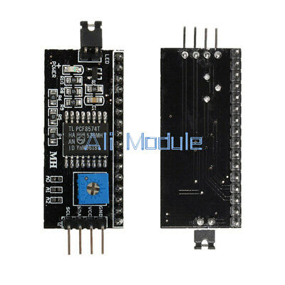 2PCS IIC I2C TWI SP​​I Serial Interface Board Module Port For Arduino 1602LCD S