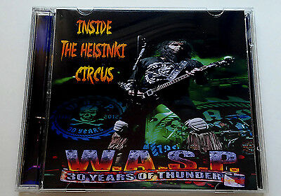 W.A.S.P. WASP Live Inside the Helsinki Circus 2 CDs, motley crue, slayer, kiss,
