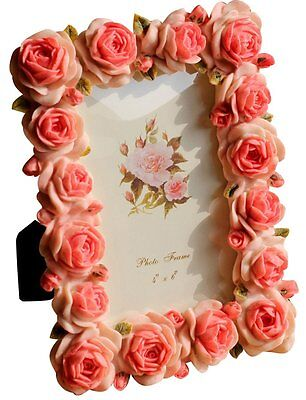 Giftgarden Rose Decor Friend Gifts 4 by 6 Picture Frames for Wedding Photo 4x6