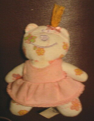 """4"""" Stuffed TOY in PINK DRESS for Zapf Creation Chou Doll Mommy Make Me Better VG"""