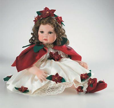 Marie Osmond Poinsetta 11in doll Limited Edition 14+ C25007