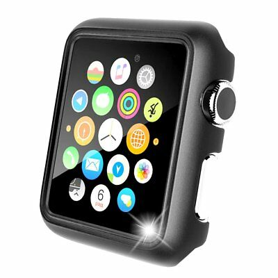 Black Apple Watch Case Protector iWatch Cover Bumper 42mm Protective Slim Resist