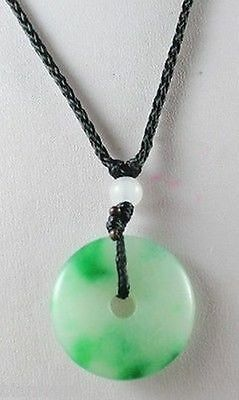 Chinese natural jade carved by hand round jade pendant with free shipping