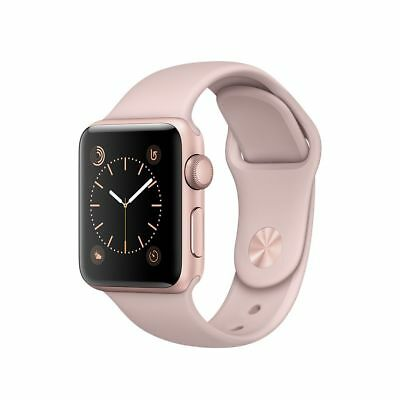 Apple Watch 2 38mm Rose Gold Aluminum Sport Band MNNY2 Pink