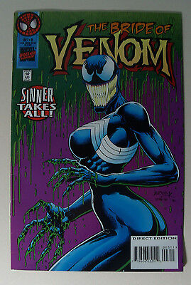 The Bride of Venom COMIC BOOK New Sinner Takes All vol 1 No 3 Oct 93 Spider-Man
