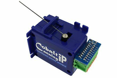 DCC Concepts COBALT ip Slow Action Analogue Point Motor (1, 3, 6 or 12 Pack)