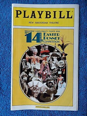 14th Annual Easter Bonnet Competition - New Amsterdam Playbill - April 2000