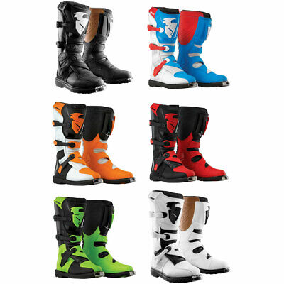 2018 Thor Blitz MX Offroad Motocross Dirt Bike Boots - Choose Size and Color