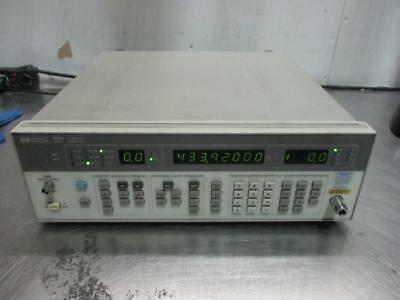HP 8656B Synthesized Signal Generator 0.1 to 990 MHz