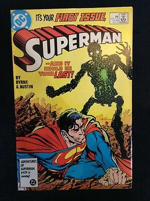 Superman #1 Vol 2 DC Comics