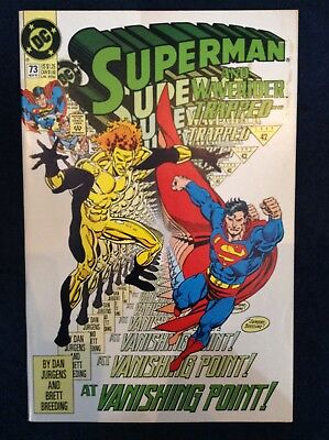 Superman #73 Vol 2 DC Comics
