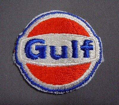 """GULF Fuel Embroidered Sew On Uniform-Jacket Patch 2"""""""