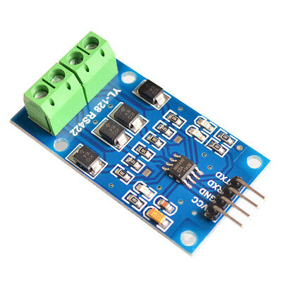 RS422 mutual conversion TTL two-way signal module RS422 turn single chip MAX490