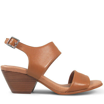 Wittner Ladies Shoes Tan Leather Heels