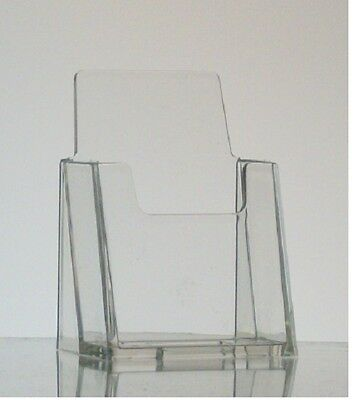 New Clear Acrylic Vertical Business Card Holder Display FREE SHIPPING