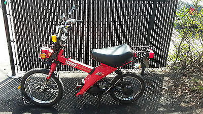 1984 Yamaha Towny MJ50 classic moped/scooter, currently registered in Vermont