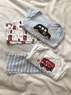 Baby Boys Pyjamas Age Up To 3 Months