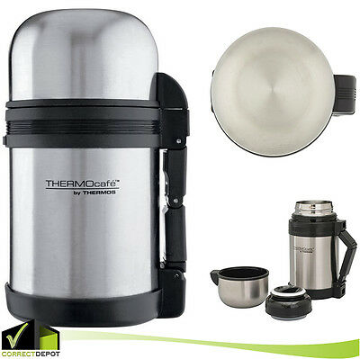 27oz Stainless Steel Insulated Thermos Food & Drinks Jar Soup Tea Coffee Picnic